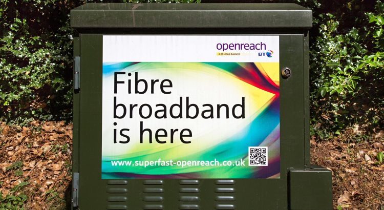A BT broadband connection
